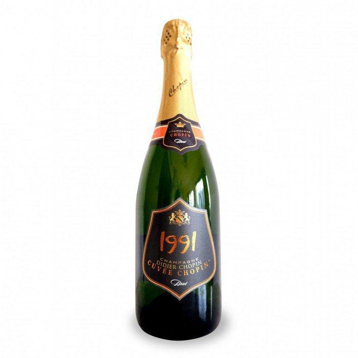 Dider Chopin Cuvée Brut Champagne 1991